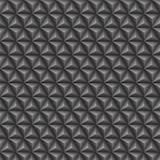 Driehoeks 3d grijs naadloos patroon vector illustratie