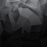 Driehoeks donker grijs 02 Stock Afbeelding