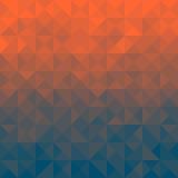 Driehoeksachtergrond Stock Afbeeldingen