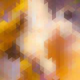 Driehoeksachtergrond in de herfstkleuren. Royalty-vrije Stock Foto's