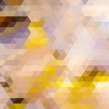 Driehoeksachtergrond in de herfstkleuren. Royalty-vrije Stock Foto