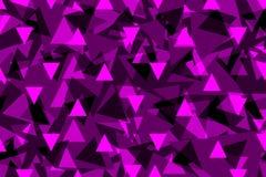 Driehoeksachtergrond - purple, Royalty-vrije Stock Foto