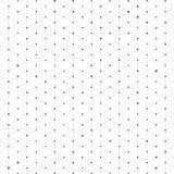 Driehoekspatroon met verbindingslijnen en punten Stock Afbeeldingen