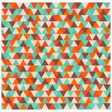 Driehoekspatroon, veelhoek kleurrijke naadloze achtergrond Royalty-vrije Stock Foto's