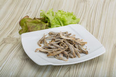 Dries anchovy Royalty Free Stock Photos