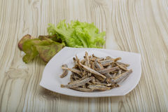 Dries anchovy Stock Photos