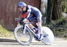 Dries Devenyns Belgian Cyclist Stock Photos