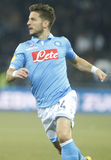 Dries Mertens  Young Boys Berne v FC Naples Liga Europa Royalty Free Stock Photo