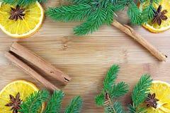 Dries orange aroma spices Royalty Free Stock Photos