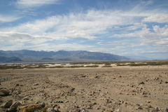 The driest place on earth -Death Valley. Death Valley March 2005 Royalty Free Stock Image