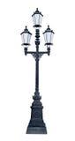 Drievoudige lantaarnpaal Royalty-vrije Stock Foto