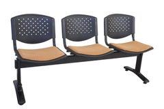 Drievoudige stoel Stock Afbeeldingen