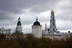 Drievuldigheid Lavra van St. Sergius Stock Afbeeldingen