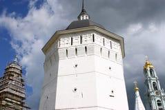 Drievuldigheid Lavra van St. Sergius in Sergiyev Posad Stock Afbeelding