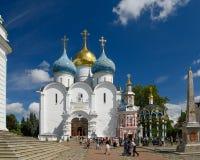 Drievuldigheid Lavra van St Sergius Sergiyev Posad, Rusland Royalty-vrije Stock Fotografie