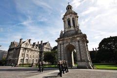 Drievuldigheidsuniversiteit, universiteit in Dublin Royalty-vrije Stock Afbeelding