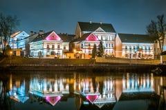 Drievuldigheidsvoorstad, Wit-Rusland, Minsk 2016 Stock Fotografie
