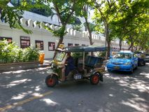 Driewieler in Bangkok Thailand Stock Foto's