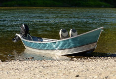 Drift Boat Royalty Free Stock Photo