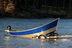 Drift Boat Royalty Free Stock Image