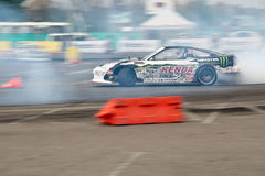 Drift car in action Stock Photography