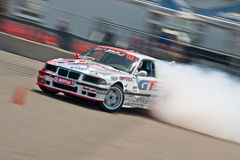 Drift car in action Stock Images