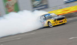 Drift car in action Stock Image