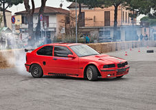 Drift car BMW Royalty Free Stock Images