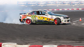 Drift car Europe championship Royalty Free Stock Images