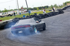 Drift car Royalty Free Stock Photos