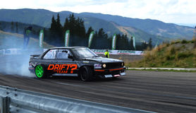 Drift Car. A powerful drift car on mountains royalty free stock image