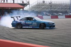 Gateway Motorsports Drift Car Show 2018 II. The drift car show held at Gateway Motorsports Park was a side attraction on race day. The smaller event meant room stock photography