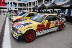 Drift Cars Stock Photography