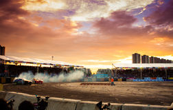 Free Drift Compittition Stock Photography - 32164882
