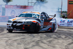 Drift Compittition Stock Image