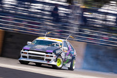 Drift Compittition Royalty Free Stock Photography