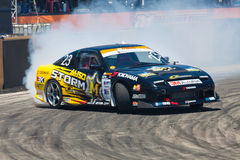 Drift Compittition Stock Photo