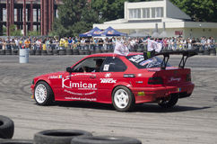 Drift demonstration Royalty Free Stock Photography