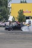 Drift demonstration Stock Photo