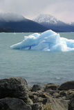 Drift ice in Patagonia Royalty Free Stock Photography
