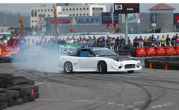 Drift King of Europe championship-Cluj Napoca Stock Photos