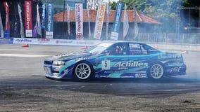 Drift Race Car Stock Photo
