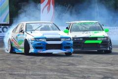 Drift Race: Head To Head Drift Battle Stock Images
