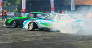 Drift Race: Head To Head Drift Battle Royalty Free Stock Images