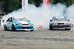 Drift Race: Head To Head Drift Battle Stock Image