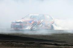 Drift Race: Single Drift Action Stock Images