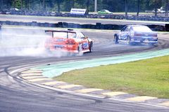 Drift Racing Royalty Free Stock Image