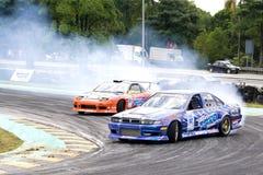 Drift Racing Royalty Free Stock Photos