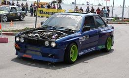 Drift racing car Royalty Free Stock Photos