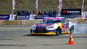 Drift racing car Rocket Bull 86 Royalty Free Stock Photos